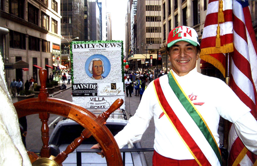 Columbus Day Parate in NY City